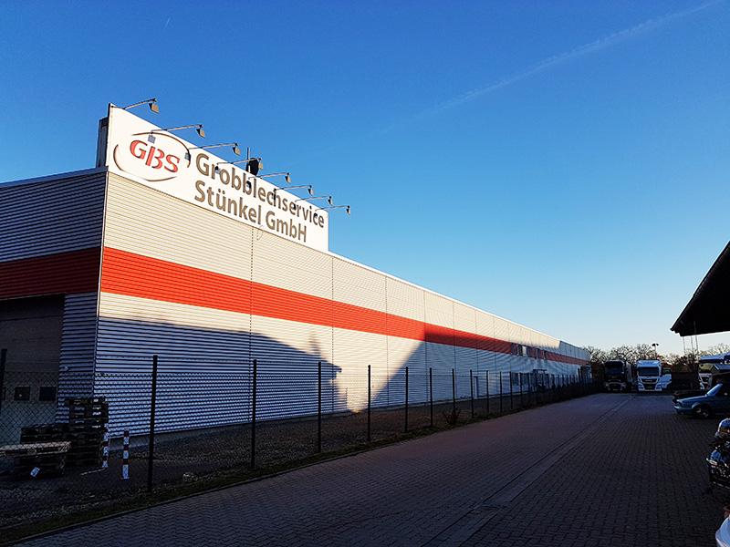 Gebäude der Firma Grobblechservice Stünkel